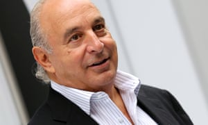 Arcadia chairman Philip Green