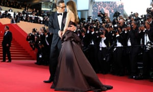 Brad Pitt and Angelina Jolie at Cannes in 2011