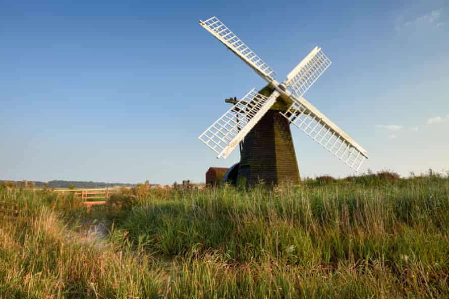 The mill at Herringfleet.