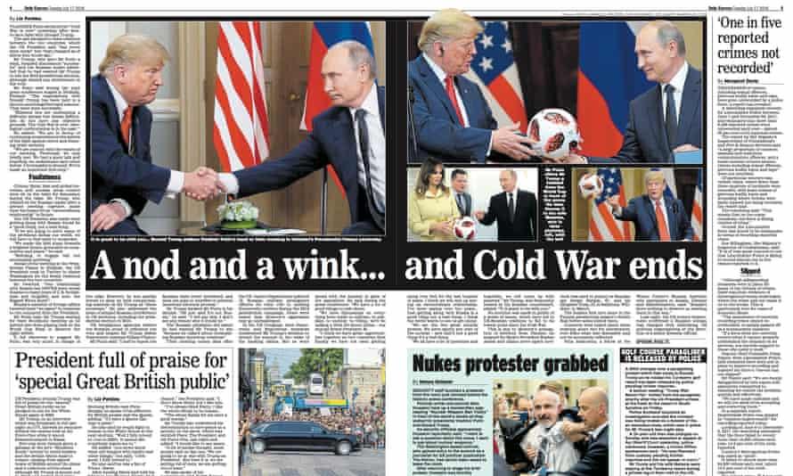 Express Trump spread, 17 July