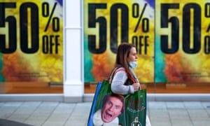 The ONS says clothes prices would usually go up in November in the run-up to Christmas.