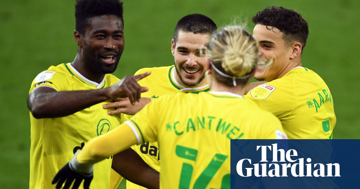 Championship roundup: Norwich return to the top with win over Forest