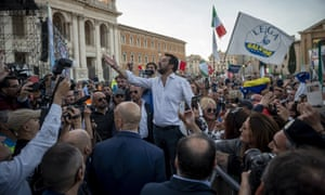 Outside of Italy's more liberal cities, voters in  towns and rural areas are turning to Matteo Salvini's right-wing Lega party.