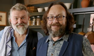 The Hairy Bikers: Si King and Dave Myers.