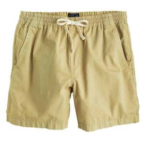 oatmeal shorts with tie waist