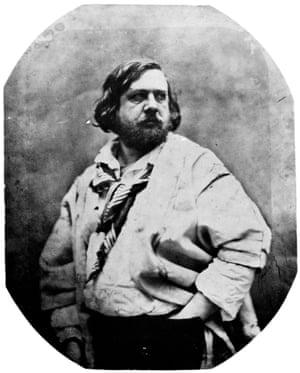Nadar's portrait of Théophile Gautier.
