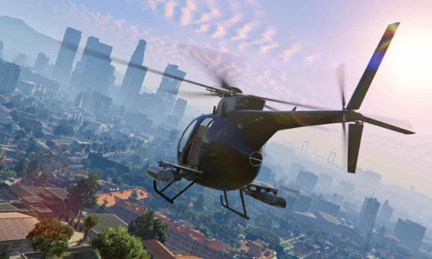 Could a future version of Grand Theft Auto feature a city populated by intelligent characters with their own biographies and emotions?