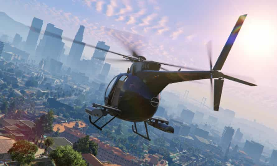 Grand Theft Auto V – because you will probably never crash land a helicopter on an LA freeway in real-life