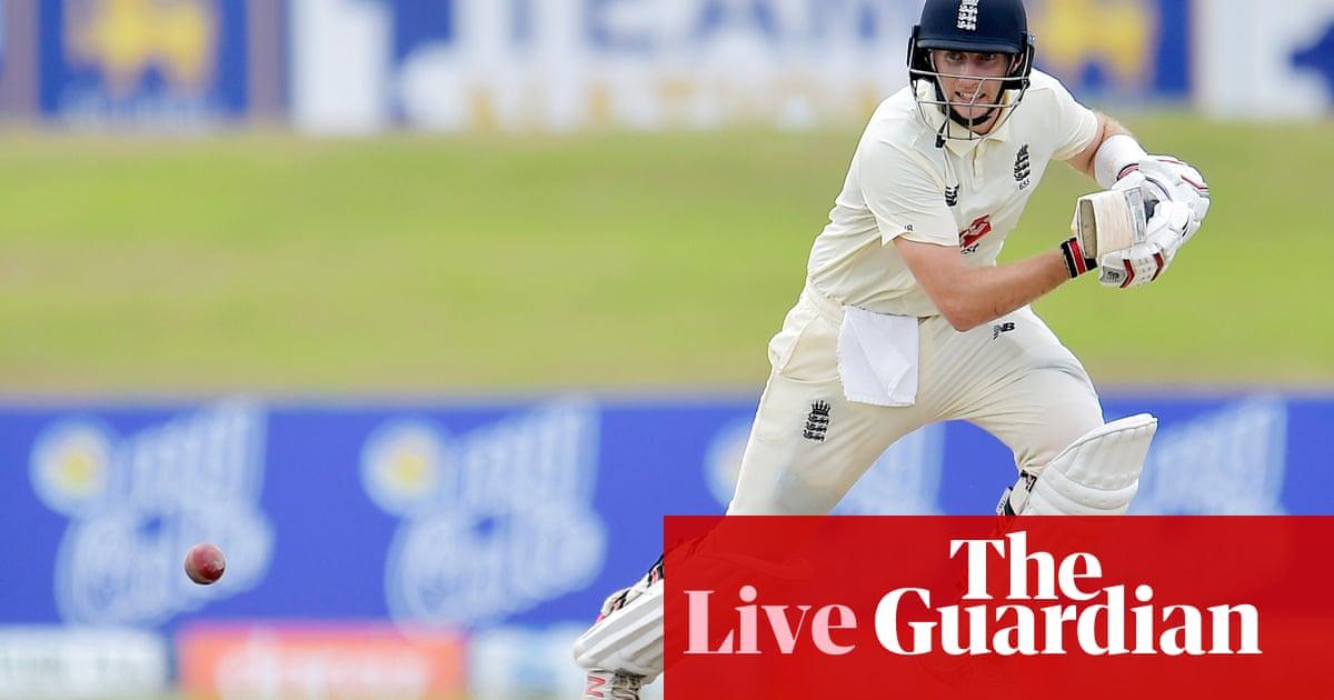 Sri Lanka v England: first Test, day two – live!