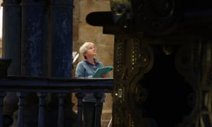 Dr Jennifer Alexander conducted a stone-by-stone analysis in the cathedral of Santiago de Compostela.