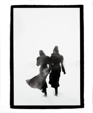 Peter Lindbergh Linda Spierings and Tatjana Patitz, Le Touquet, 1987