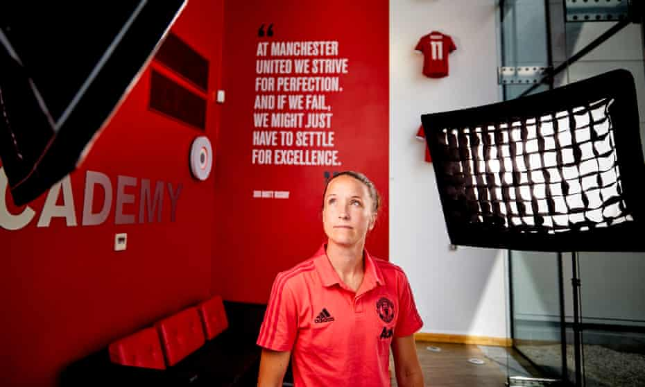 Casey Stoney has taken advice on managing from all the people she has worked with.