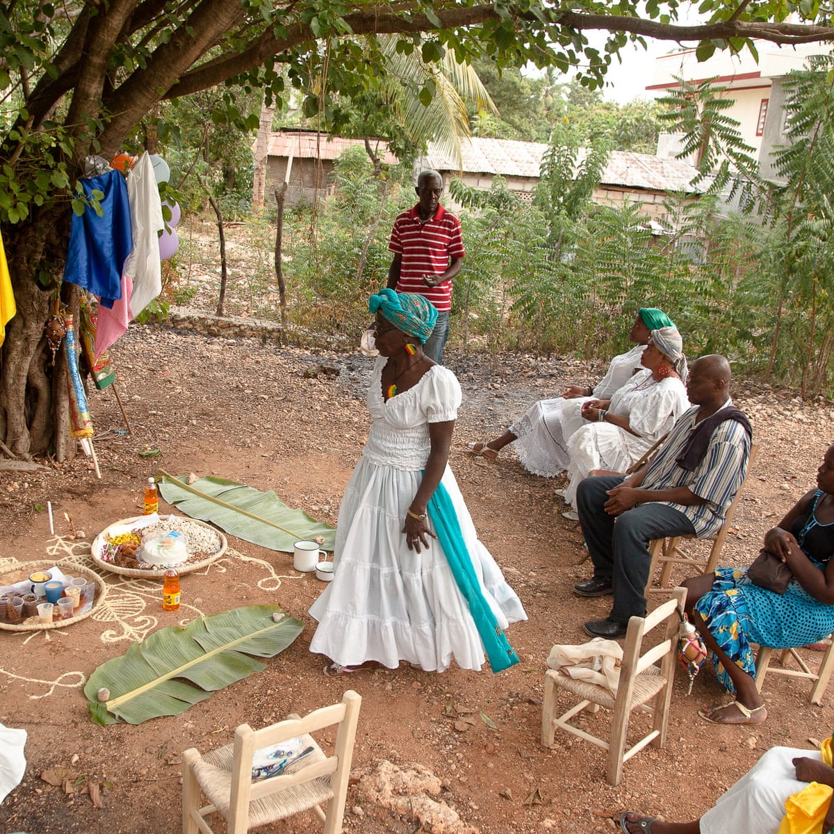 Vodou Is Elusive And Endangered But It Remains The Soul Of Haitian People World News The Guardian