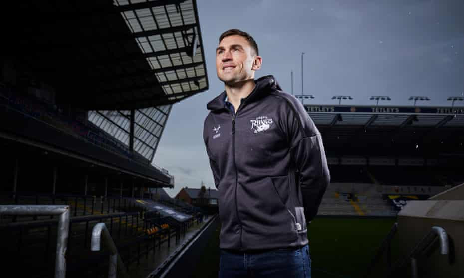 Kevin Sinfield at Headingley. 'He's said it a million times – he would have done the same for me,' he says.