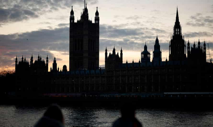 Palace of Westminster at evening