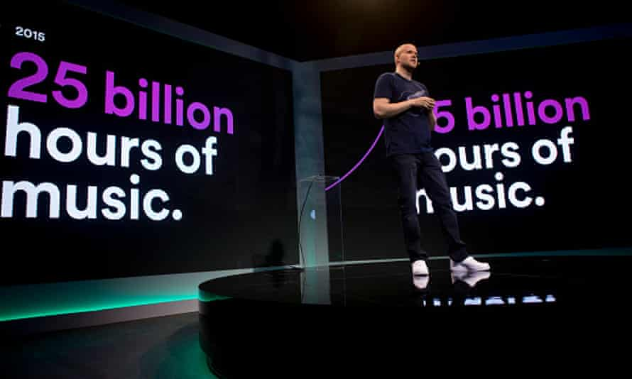Rivalry from Apple Music is driving Spotify forward.