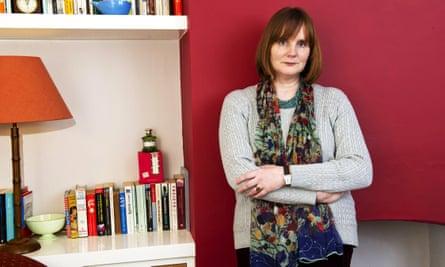 Sarah Hilary at home