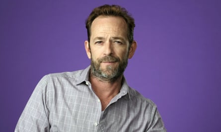 Luke Perry in 2018. His publicist said the family requests privacy 'in this time of great mourning'.