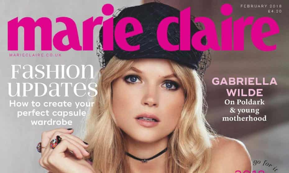 An edition of Marie Claire UK from February 2018