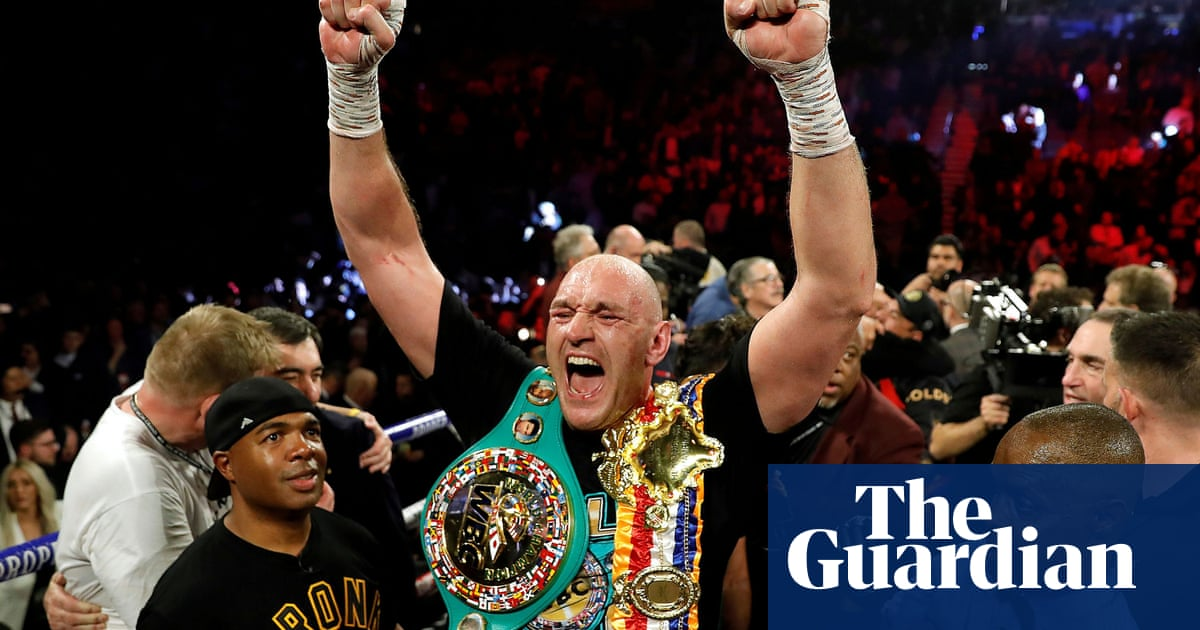 Tyson Fury claims plans for Anthony Joshua showdown no further forward