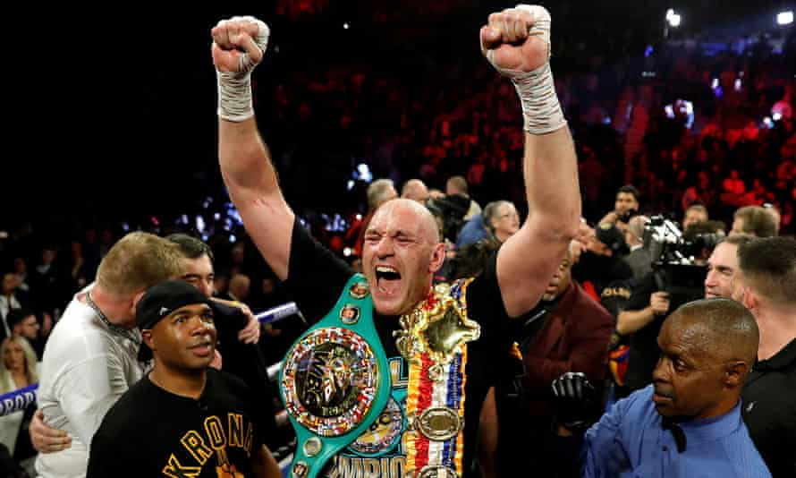 Tyson Fury, the WBC heavyweight champion, has not fought since beating Deontay Wilder last year.