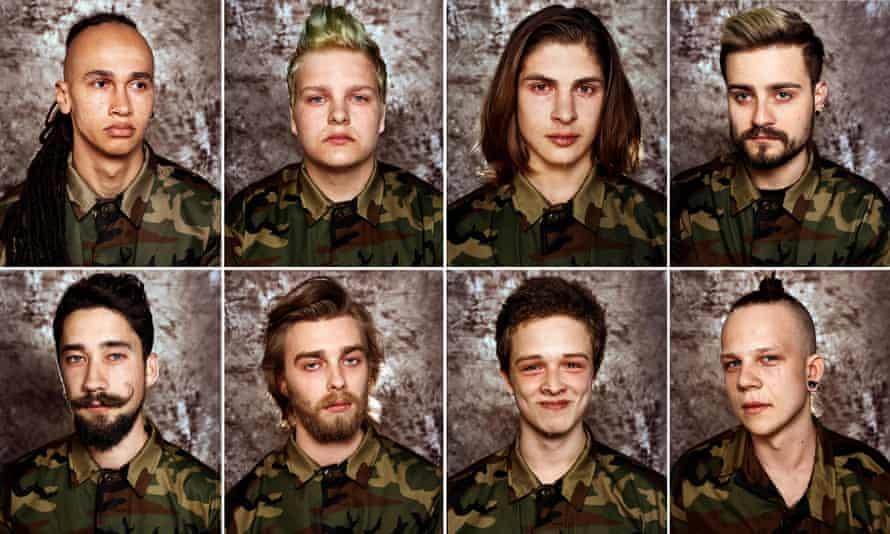 Lithuanian conscripts.