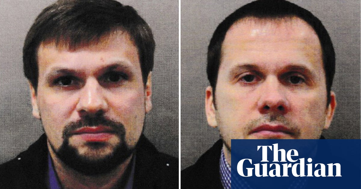 Czech police hunt two men with names matching Skripal suspects