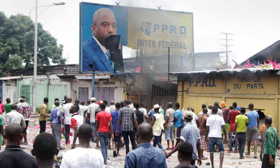 Billboard of President Joseph Kabila