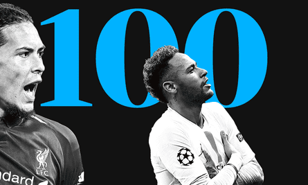 Virgil van Dijk and Neymar were two of the players on our top 100 list.