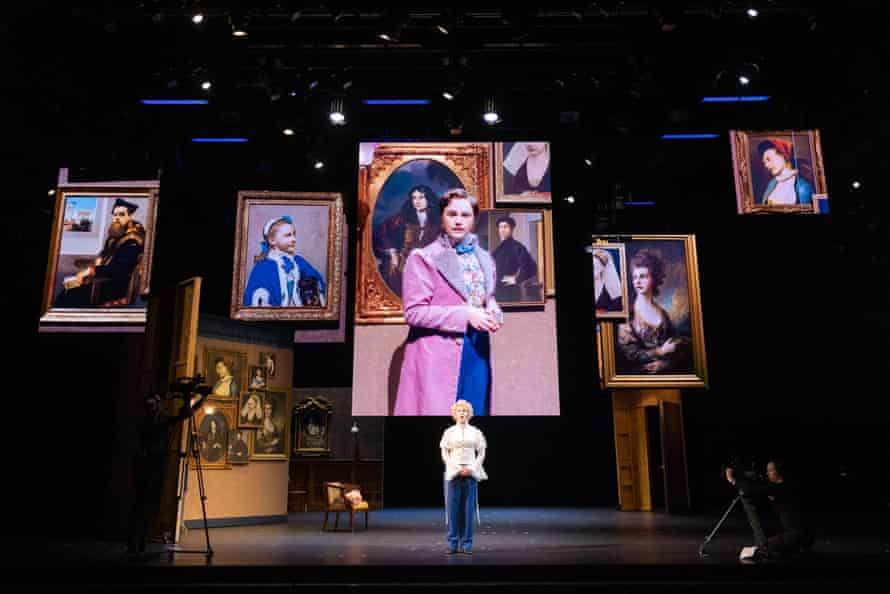 Eryn Jean Norvill in the Sydney Theatre Company production of The Picture of Dorian Gray 2020