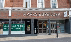 An M&S store in Windsor, Berkshire, back in May