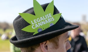 Legalise cannabis demonstrator