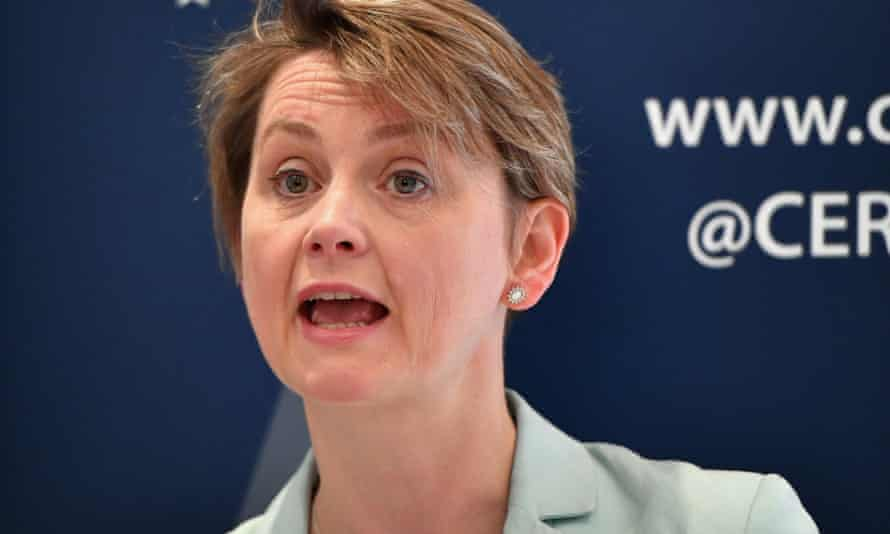 Yvette Cooper, chair of the home affairs select committee