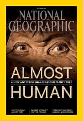 October issue of National Geographic.