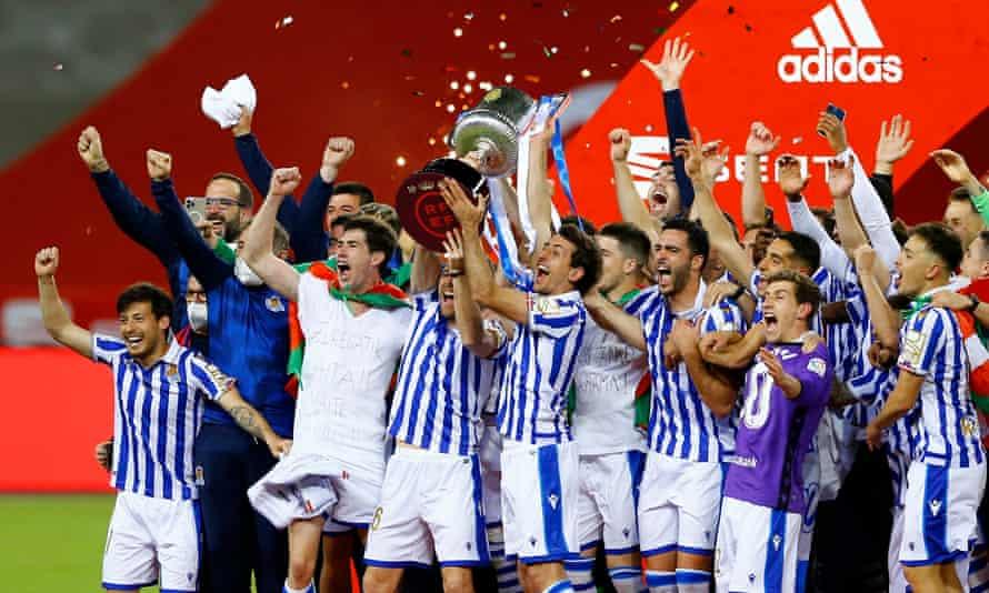 Real Sociedad beat Athletic to claim Copa del Rey and Basque glory | Copa  del Rey | The Guardian