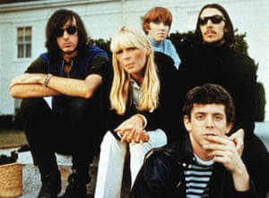 The unmistakable accent of the Velvet Underground with Nico (centre)