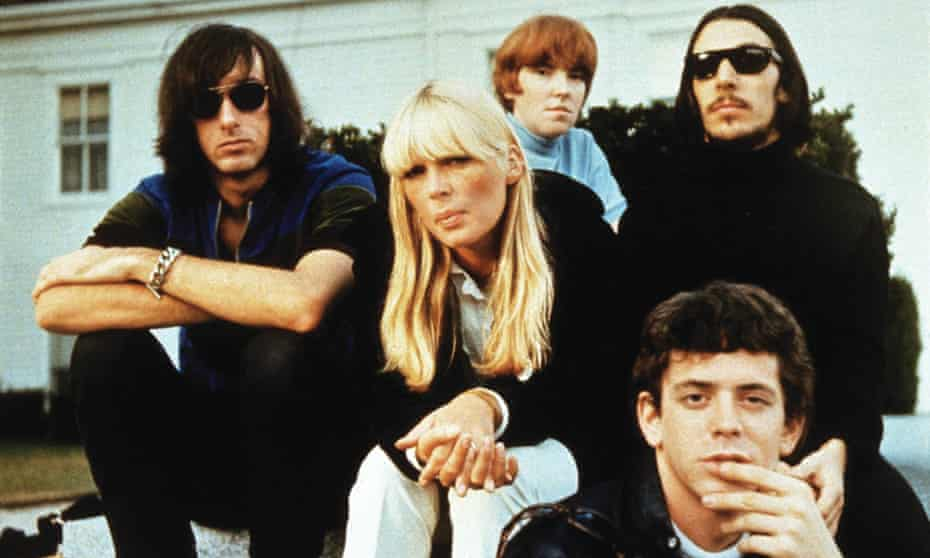 Creating cinéma vérité in rock … the Velvet Underground and Nico.
