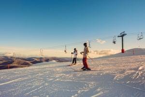 Teens Skiing In The AfternoonStocksy txp732b3397dBU200 Medium 1855622