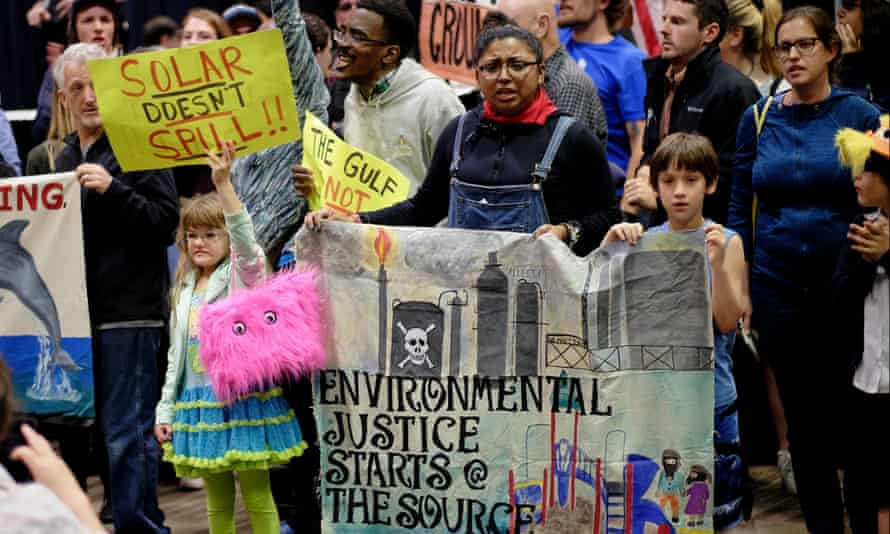 Protesters said they would be at the public hearings about the new five year plan in April.