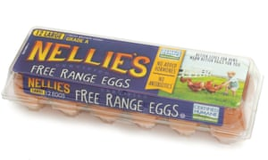 Despite its packaging showing hens roaming open pastures, a new lawsuit claims Nellie's crams as many as 20,000 hens into crowded sheds