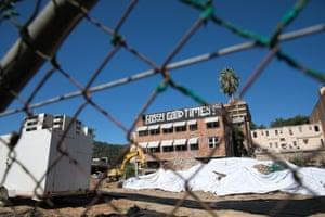 Gosford construction site.