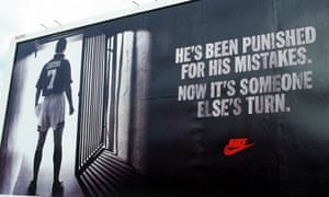 Nike's infamous advert in 1995