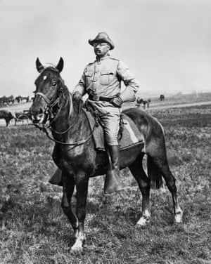 'Photograph me on horseback,' wrote Teddy Roosevelt in 1908. 'Tennis, no. And golf is fatal.'