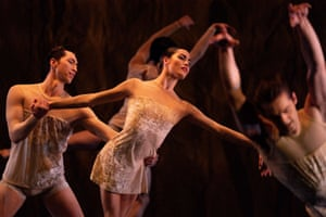 Birmingham, England Dancers perform during a dress rehearsal of Curated by Carlos, a new Birmingham Royal Ballet production at Birmingham Repertory Theatre