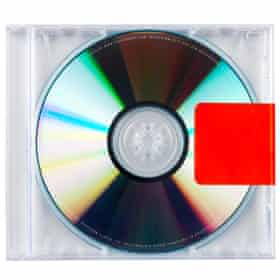 The Yeezus CD in its case