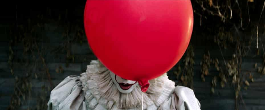 Pennywise from the 2017 film adaptation of It.