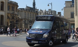 Pick Me Up – bus service on demand in Oxford