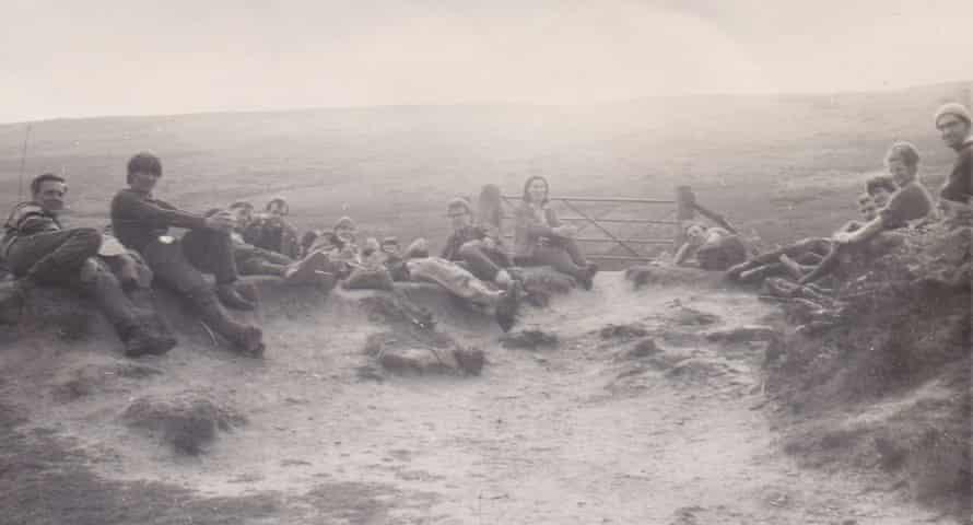 Historical image of Lyke Wake Walk.