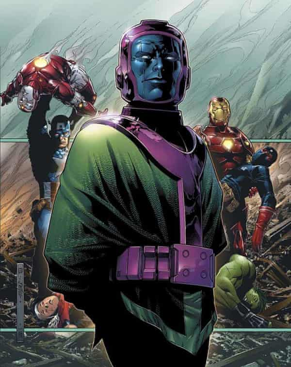 Next role? … Kang the Conqueror, AKA Iron Lad.