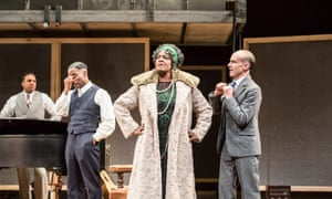 Sharon D Clarke as Ma Rainey at the National.